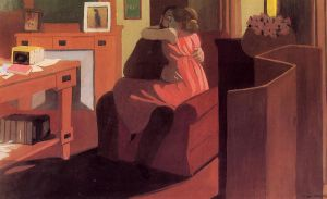 Intimacy - Felix Vallotton Oil Painting