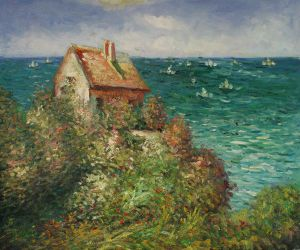 Fishermans Cottage At Varengeville - Oil Painting Reproduction On Canvas