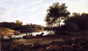 The Carriage Ride Home - Thomas Birch Oil Painting