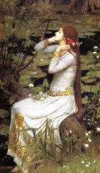 Ophelia III - Oil Painting Reproduction On Canvas