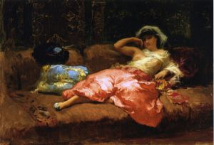 Odalisque - Oil Painting Reproduction On Canvas
