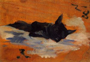 Little Dog - Henri De Toulouse-Lautrec Oil Painting