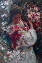 Primavera - Oil Painting Reproduction On Canvas