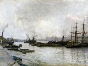Thames, London - Oil Painting Reproduction On Canvas