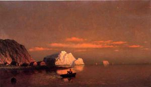 Fishermen off the Coast of Labrador - William Bradford Oil Painting
