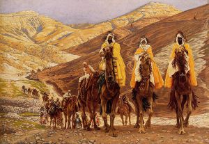 Journey of the Magi - James Tissot oil painting
