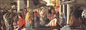 Adoration of the Magi - Sandro Botticelli Oil Painting
