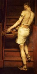 The Roman Potter - Sir Lawrence Alma-Tadema Oil Painting