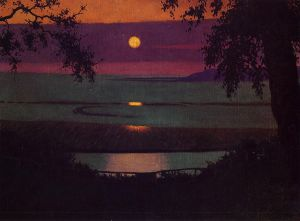Sunset - Felix Vallotton Oil Painting