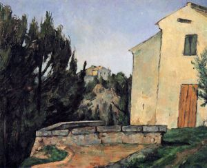 The Abandoned House - Paul Cezanne Oil Painting