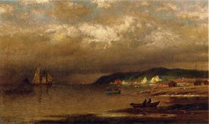 Coast of Newfoundland - William Bradford Oil Painting