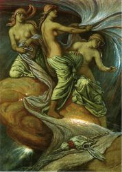 The Fates Gathering in the Stars - Oil Painting Reproduction On Canvas