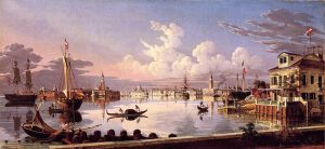 View of Venice - Oil Painting Reproduction On Canvas