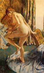 After the Bath 8 - Edgar Degas Oil Painting