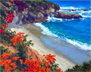 Laguna Floral - Gregory Hull Oil Painting
