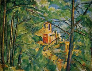 The Chateau Noir II - Paul Cezanne Oil Painting