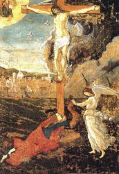 Crucifixion - Sandro Botticelli oil painting