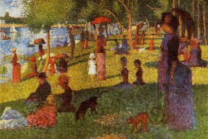An Afternoon at La Grande Jatte - Oil Painting Reproduction On Canvas