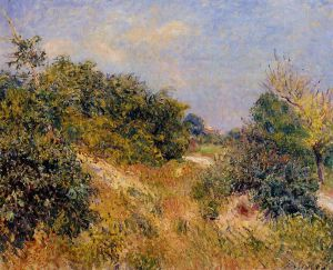 Edge of Fountainbleau Forest-June Morning - Alfred Sisley Oil Painting
