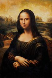 Mona Lisa III - Oil Painting Reproduction On Canvas