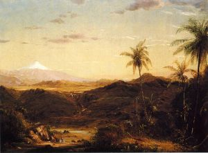 Cotopaxi III - Frederic Edwin Church Oil Painting
