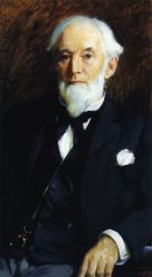 Jerome A. Eddy, Sr. - Robert Vonnoh Oil Painting