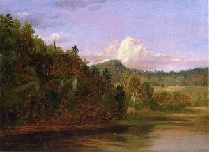 Landscape - Thomas Cole Oil Painting