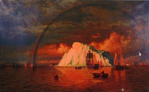 Midnight Sun - William Bradford Oil Painting