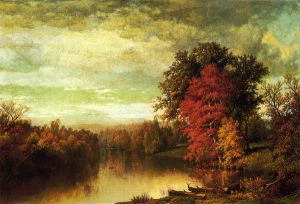 Color of the Fall - William Mason Brown Oil Painting