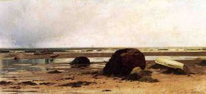 Low Tide II - Alfred Thompson Bricher Oil Painting