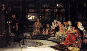 Consulting the Oracle - John William Waterhouse Oil Painting