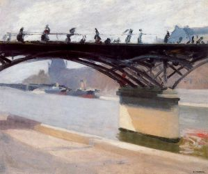 Le Pont des Arts - Edward Hopper Oil Painting