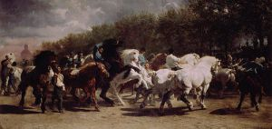 The Horse Fair -Rosa Bonheur Oil Painting