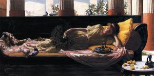 Dolce Far Niente - Oil Painting Reproduction On Canvas