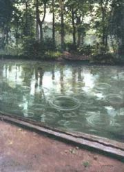 L'Yerres - Gustave Caillebotte Oil Painting