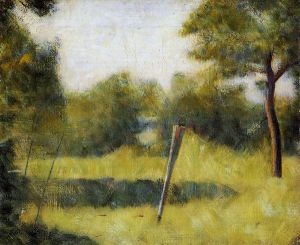 The Clearing - Georges Seurat Oil Painting