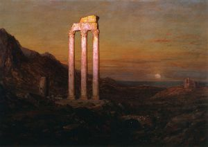Moonrise - Frederic Edwin Church Oil Painting