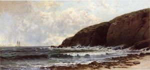 Coastal Scene - Alfred Thompson Bricher Oil Painting
