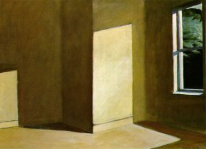 Sun in an Empty Room - Edward Hopper Oil Painting