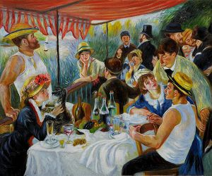 Luncheon of the Boating Party V - Pierre Auguste Renoir Oil Painting