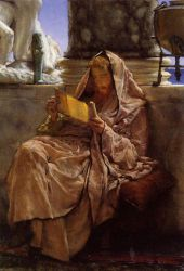 Prose - Sir Lawrence Alma-Tadema Oil Painting