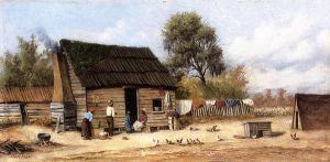 Cabin in the South - William Aiken Walker Oil Painting