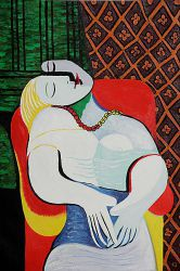 The Dream - Pablo Picasso Oil Painting