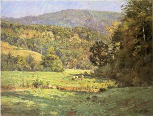 Roan Mountain - Theodore Clement Steele Oil Painting
