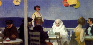 Soir bleu - Edward Hopper Oil Painting