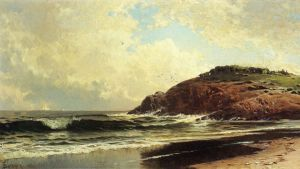 Light Winds - Alfred Thompson Bricher Oil Painting