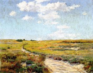A Sunny Afternoon, Shinnecock Hills - William Merritt Chase Oil Painting