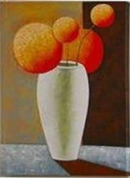 A Bottle of Red Fruit - Oil Painting Reproduction On Canvas