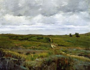 Over the Hills and Far Away II - William Merritt Chase Oil Painting