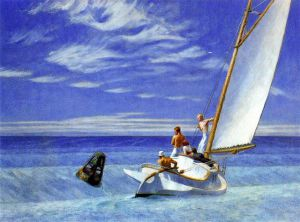 Ground Swell - Edward Hopper Oil Painting